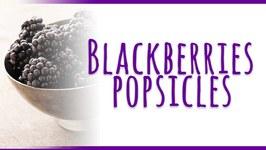 Vegan Blackberry Popsicles Recipe