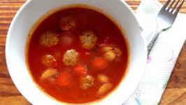 Meatballs In Tomato Soup