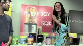 Blender Babes Visits NutriBullet And Tests Out NutriLiving Superfoods