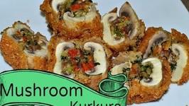 Stuffed Kurkure Mushroom