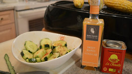 How to Make Napa Valley Cucumber Salad with Smoked Paprika & Sweet Mango Dressing