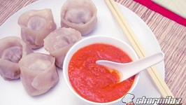 Steamed Chicken Momos - Soft and Juicy (Without Momo Maker)
