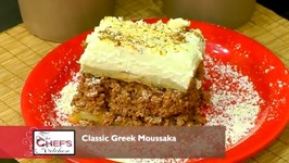 Chef Andy Kamaratos - Classic Greek Moussaka