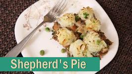Shepherd's Pie  Vegetarian Pie - Christmas Special Recipe  Ruchi's Kitchen