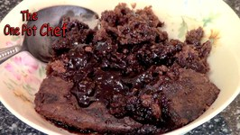 Chocolate Self Saucing Pudding  One Pot Chef
