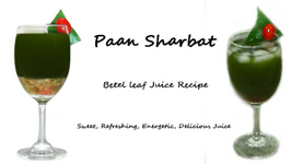 Paan Sharbat Recipe - Betel Leaf Juice