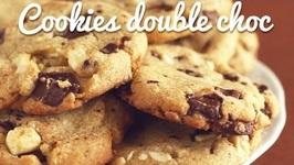 Cookies double choc