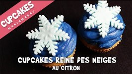 Cupcakes La reine des neiges au citron