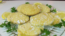 Betty's Lemon Crinkle Cookies -- Thanksgiving