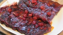Cherry Amaretto Baby Back Ribs