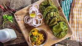 Green Kitchen - Green Methi Puri with Pumkin - Easy Indian Recipe