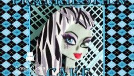 Monster High Cake Frankiestein - How to Make