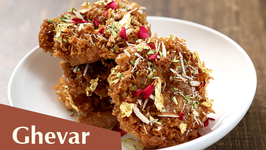 How To Make Ghevar  Diwali Special Recipe  The Bombay Chef - Varun Inamdar