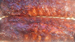 Cherry Pomegranate Habenero Ribs