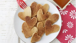 Heart Shaped Pancakes - Easy Valentine's Day Breakfast