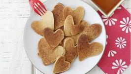 Heart Shaped Pancakes - Easy Valentine's Day Breakfast