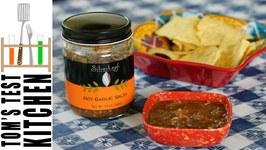 SilverLeaf Hot Garlic Salsa
