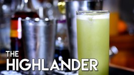 The Highlander Cocktail, Alcohol Infused
