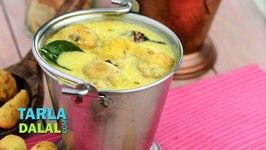 Rajasthani Pakoda Kadhi, Recipe in Hindi