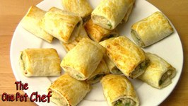 Sweet Chilli Chicken Sausage Rolls