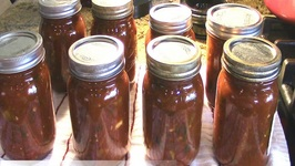 Home Canning Salsa From The Garden With Linda's Pantry