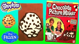 DIY Shopkins Kooky Cookie Chocolate Candy Bar For Kids