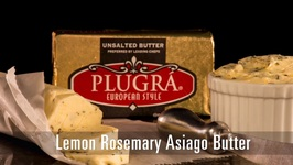 90 Second Lemon Rosemary Asiago Butter