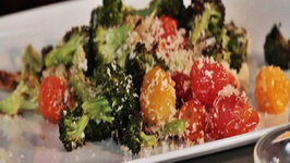 Oven Roasted Broccoli with Panko