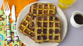 Waffle French Toast - Mother's Day Brunch