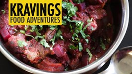 Chukander Gosht - Beet and Meat Curry
