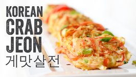 Korean Crab Jeon (Crab Stick Omelettes) Recipe: Season 4, Ep. 8