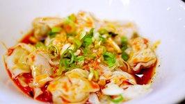 Sichuan Chilli Oil Wonton Recipe (Chao Shou)