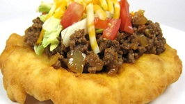 Homemade Indian Tacos And Indian Frybread