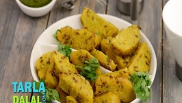 Cabbage Jowar Muthias