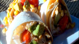 Crab Corn and Avocado Tacos with Ancho Chile Vinaigrette