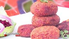 Vegetable Cutlet  Kolkata Street Snack  Deep Fried And Baked