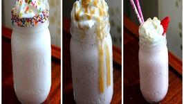 3 Easy Milkshake - How To Make Milkshakes