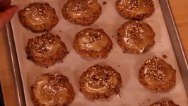 Melody's Frosted Maple Pecan Cookies
