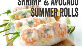 Shrimp and Avocado Summer Rolls Recipe  Season 3, Ep. 3