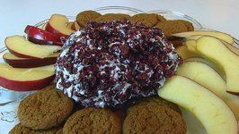Betty's Cranberry-Feta Cheese Ball -- Christmas