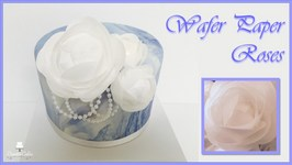 Wafer Paper Roses -Mother's Day Collaboration