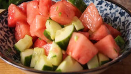 How to Make Watermelon Salad