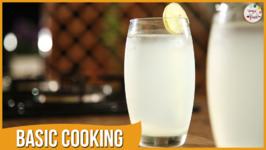 Perfect Limbu Sharbat - Nimbu Pani - Basic Cooking - Recipe By Archana In Marathi - Sweet Lime Juice