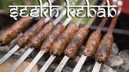 Delicious BBQ Seekh Kebabs