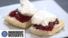Home Made Scones /5 Ingredient Desserts