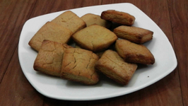 Atta Biscuit Recipe - Made in Cooker - Eggless Baking Without Oven