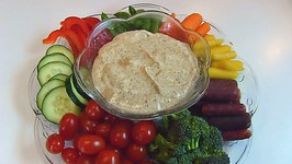 Betty's Relish Tray with Vegetable Dip -- Easter