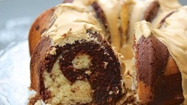 How To Make A Mocha Coffee Cake a.k.a. Coffee, Chocolate And Vanilla Marble Cake