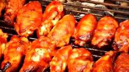 BBQ Sriracha Wings
