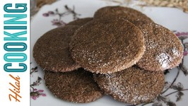 Ginger Snap Cookies - Crispy Ginger Snaps